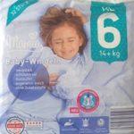 Cover der Aldi Mamia Gr. 6 XL Windeln Verpackung