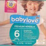 AC1 Babylove Premium Windeln Größe 6 XXL