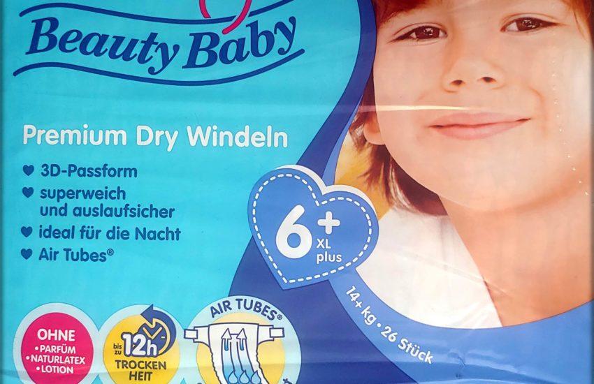 Einzelpack Beauty Baby Premium Dry Windeln Größe 6 XL plus Vorderseite