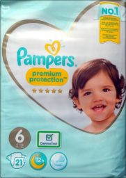 AO1 Pampers premium protection Größe 6