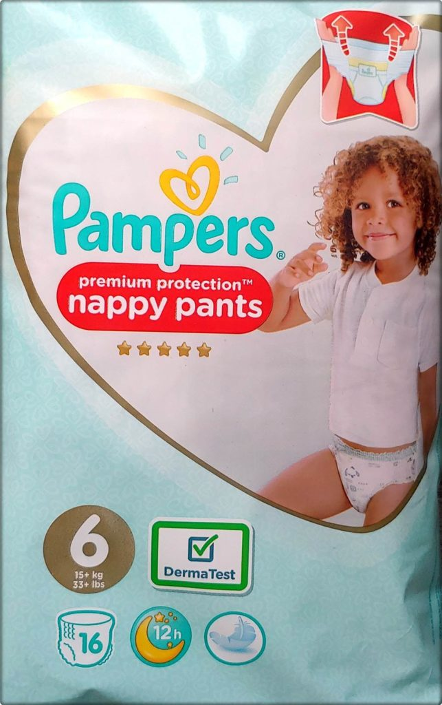 AN2 Pampers premium protection nappy pants Größe 6