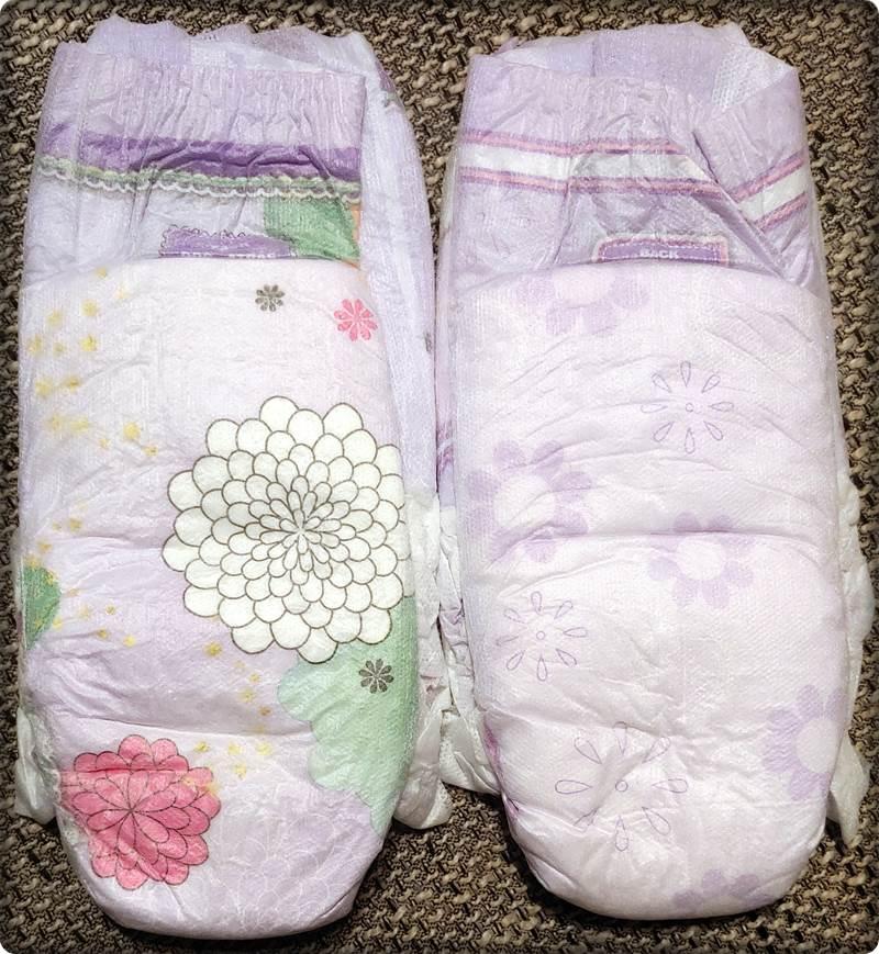 2 einzelne DryNites pyjama pants Girls 4-7 Years Rückseite