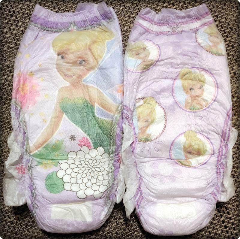 2 einzelne DryNites pyjama pants Girls 4-7 Years Vorderseite