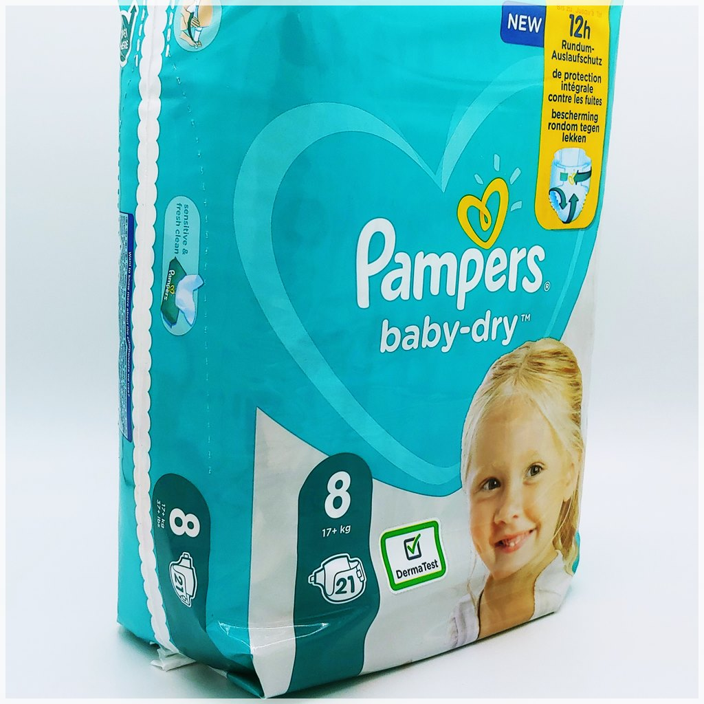 Pampers baby-dry Gr 8_Cover front