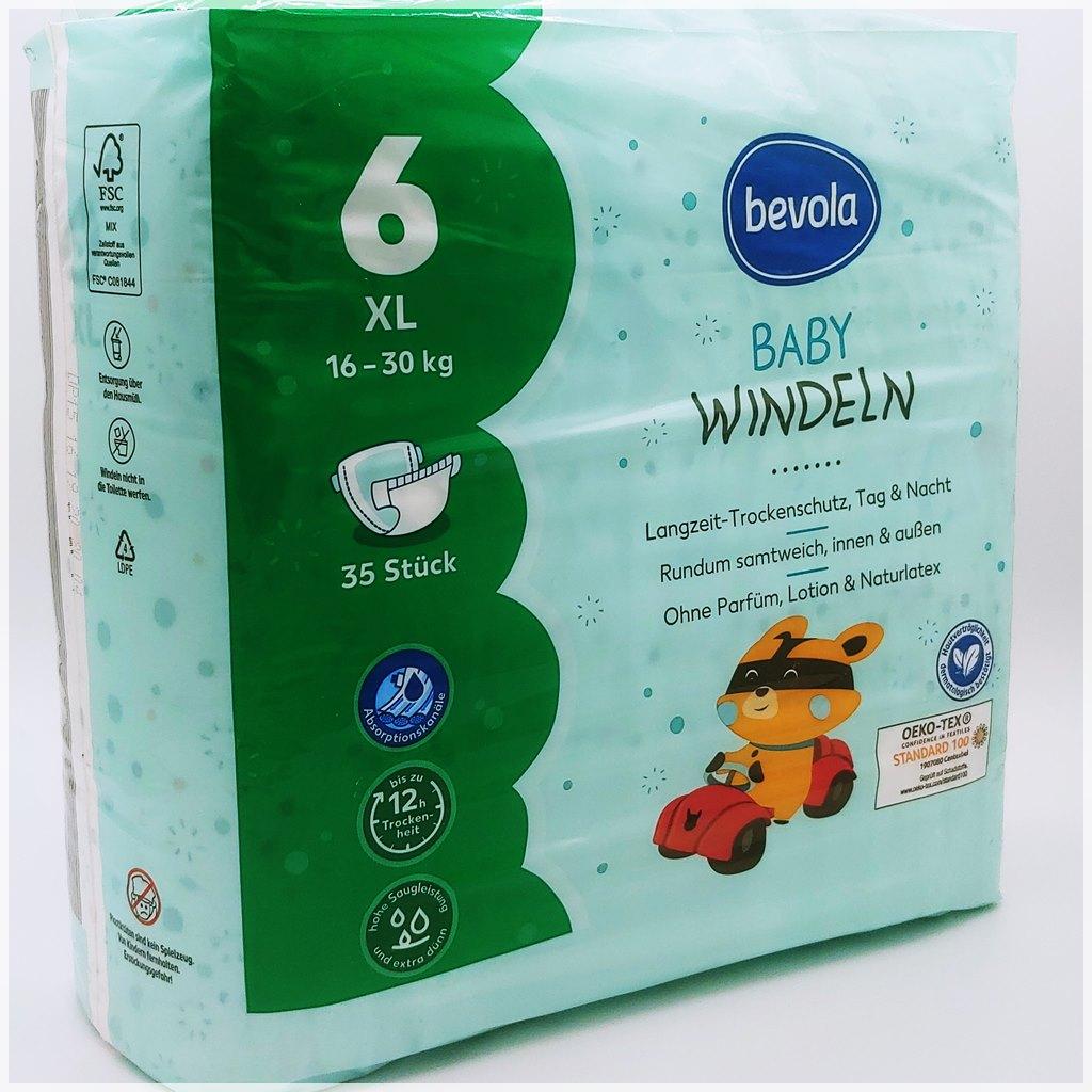 Bevola Baby Windeln Größe 6 XL Cover front
