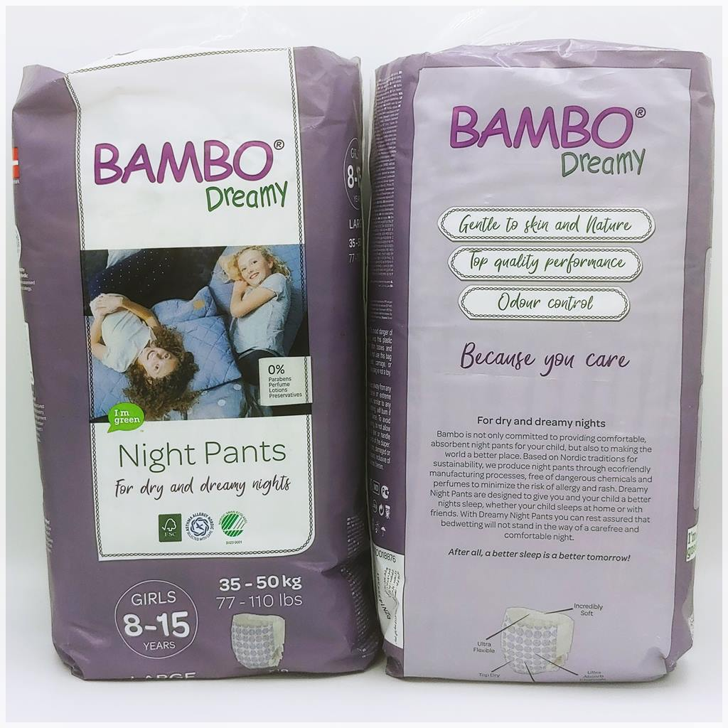 Bambo Dreamy Night Pants Girls 8-15 Years Cover front