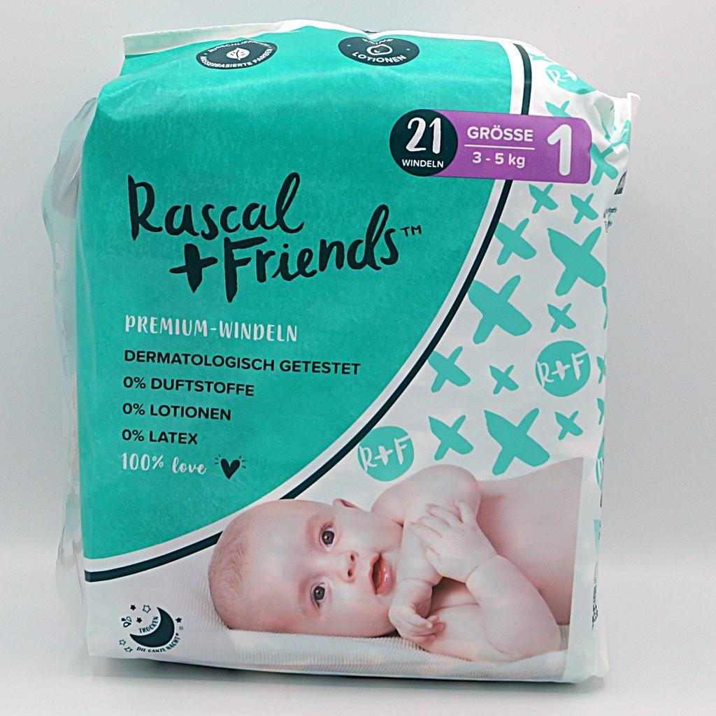 Rascal + Friends Windeln Größe 1 Cover front